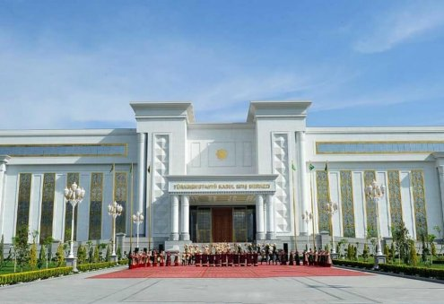 Congress Center and Reception Center Opens in Ashgabat