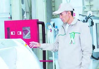 Large Wheat Flour Plant Launched in Ak Bugday Etrap