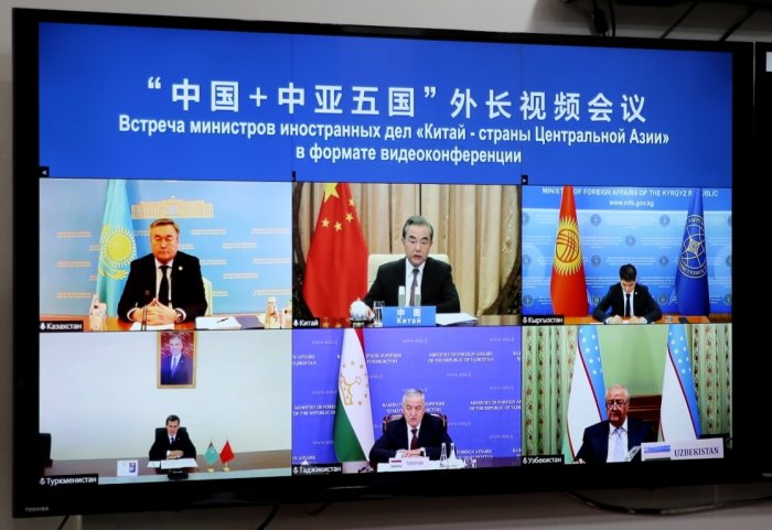Central Asia-China Meeting Focuses on Mitigating COVID-19 Pandemic's Impact
