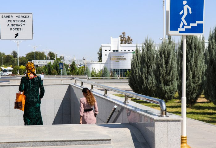 New Underground Road and Pedestrian Crossing to Appear in Ashgabat