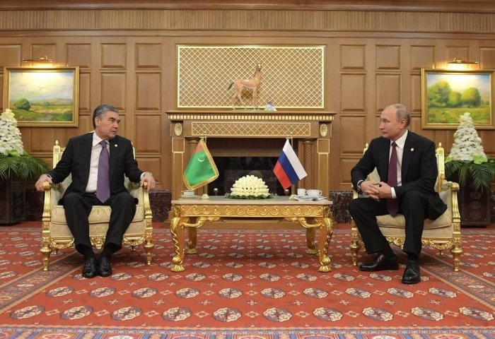 Turkmen President Congratulates Vladimir Putin on His Birthday