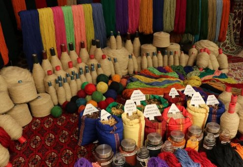 Turkmen Company Establishes Production of Wool Yarn