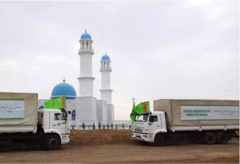 Gift From Turkmenistan: New Mosque Opens in Northern Afghanistan