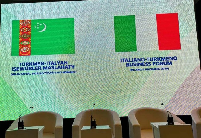 Turkmen Entrepreneurs Ink 11 Contracts With Italian Companies