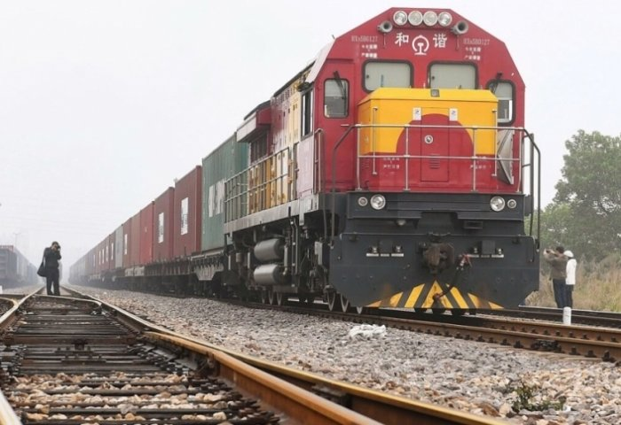 Number of China-Central Asia Freight Trains Surges