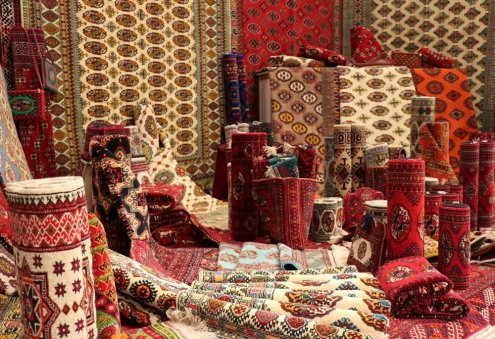 Demand Grows For Turkmen Handmade Carpets, Terry Products
