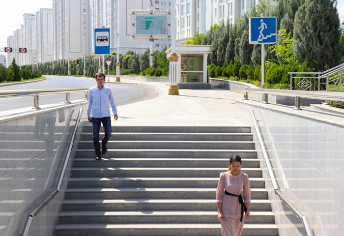 Month of Road Safety Kicks Off in Turkmenistan