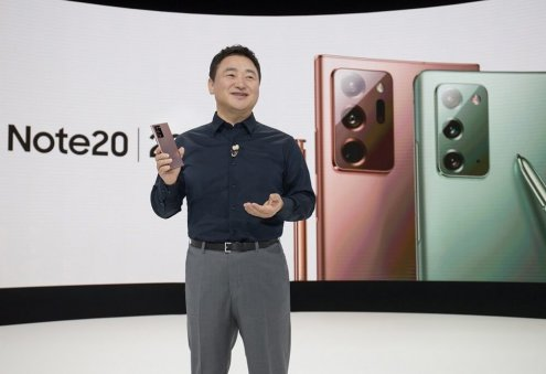 Samsung Unveils Five New Devices Including Galaxy Note 20