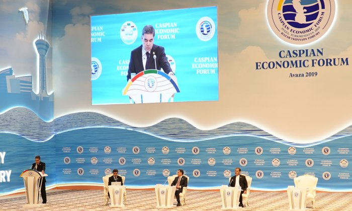 First Caspian Economic Forum Kicked Off in Avaza