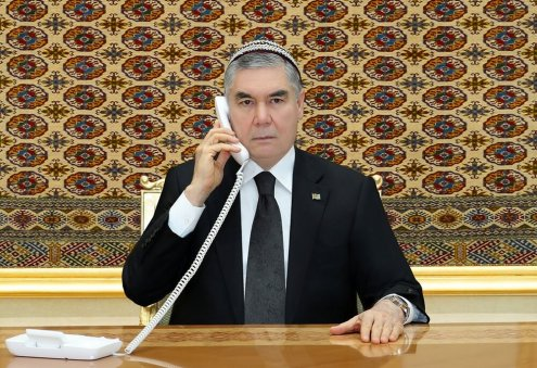 Turkmen President Holds Phone Talks With Afghan, Kyrgyz, Kazakh Counterparts