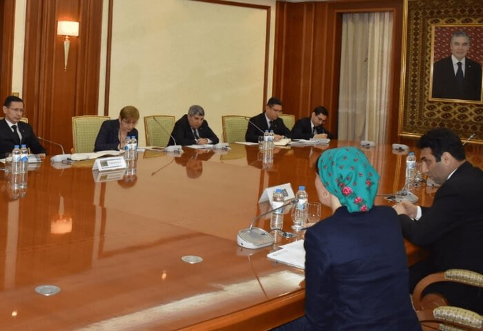 EBRD's Participation in Projects in Turkmenistan Discussed in Ashgabat