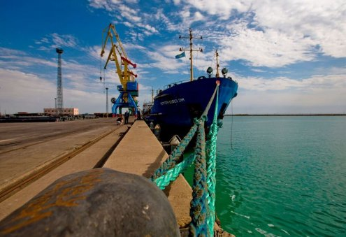 Feeder Ship to Operate Between Ports of Aktau and Turkmenbashi