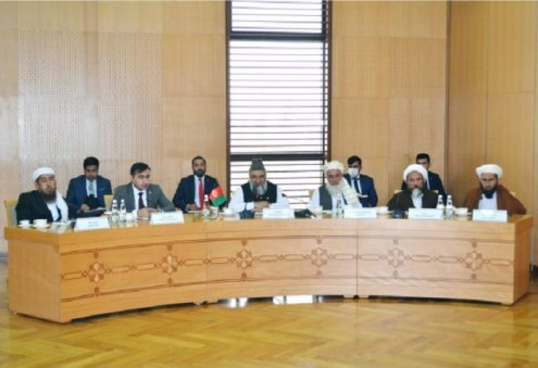 Turkmen, Afghan Officials Discuss Peace Process in Afghanistan