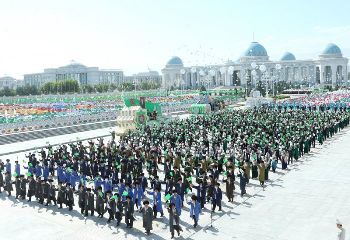 Turkmenistan Celebrates 28th Anniversary of Independence Day