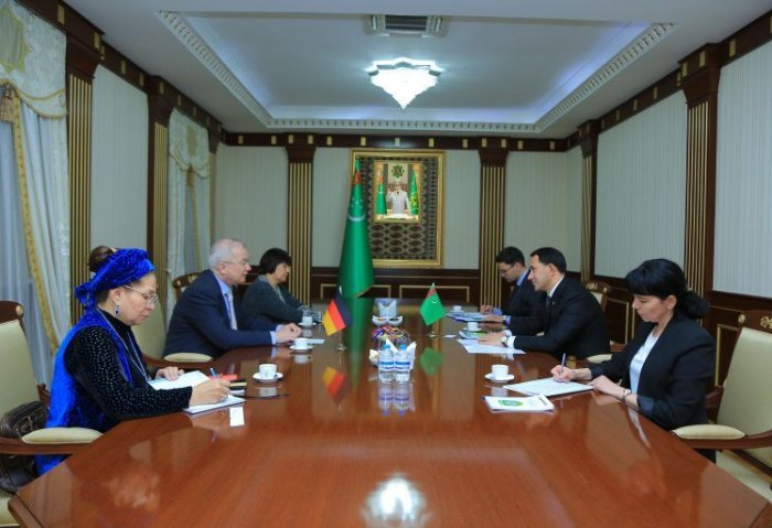 State Migration Service of Turkmenistan Hosted Meeting With German Ambassador