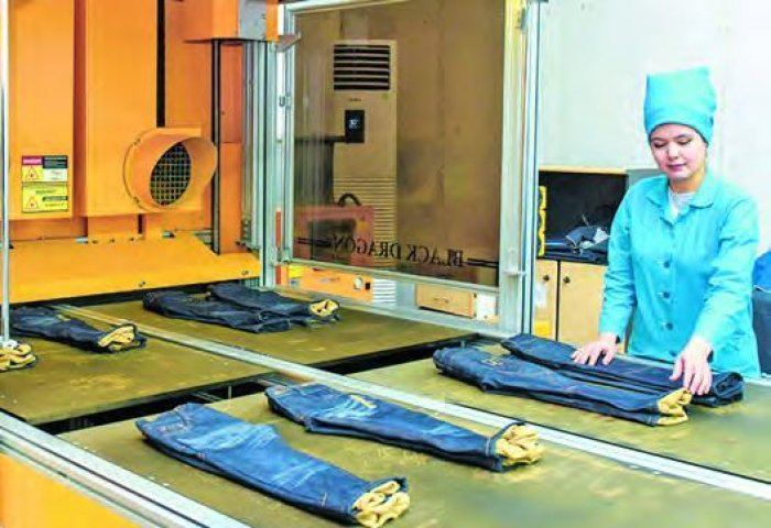 Turkmenbashi Jeans Complex Annually Produces Over 1.8 Million Denims