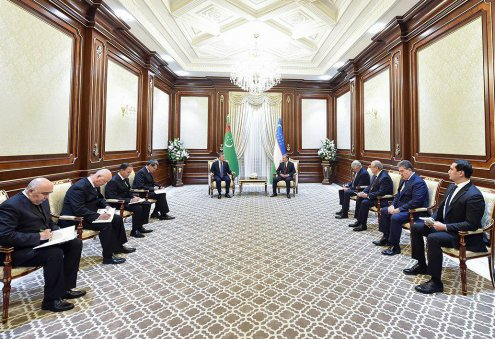 Presidents of Turkmenistan, Uzbekistan Discuss Regional Issues