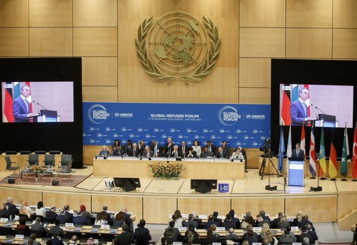 Turkmen Delegation Participates in First Global Refugee Forum