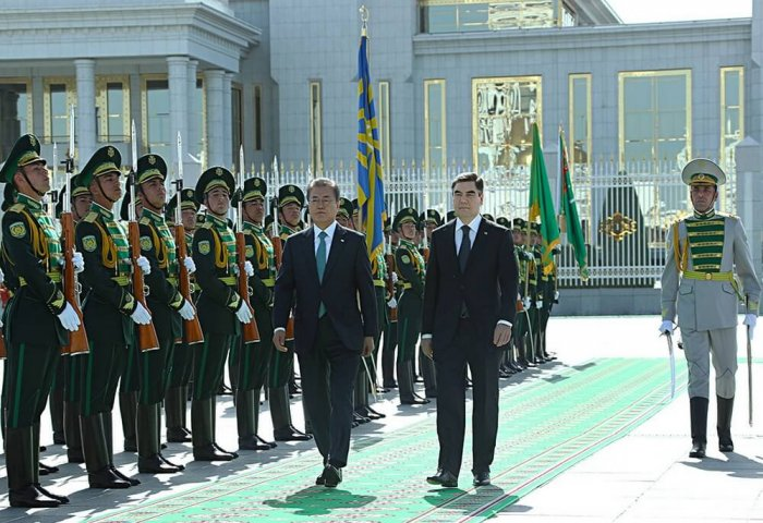 Presidents of Turkmenistan, South Korea Agree to Strengthen Bilateral Cooperation