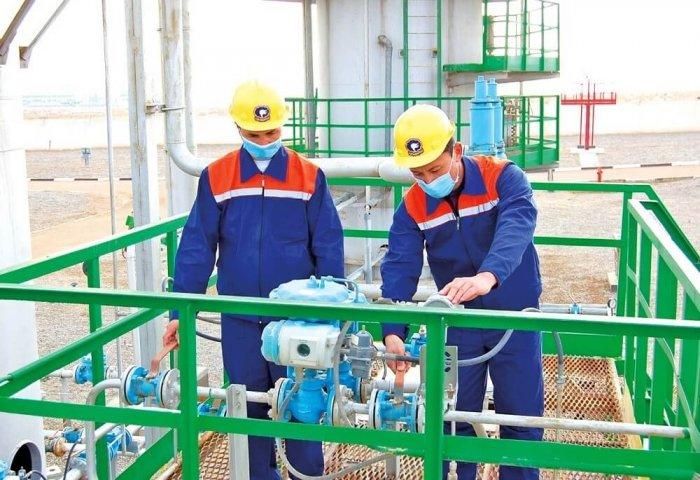 Türkmenistanda 14 milliard kubmetrden gowrak tebigy gaz çykaryldy