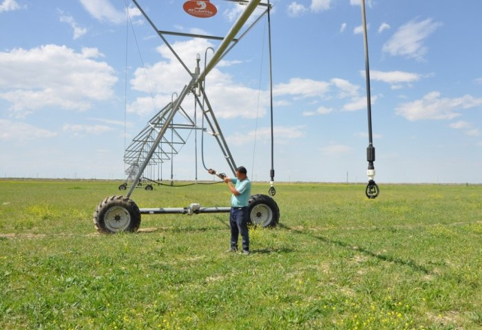 UNDP Assists in Testing Modern Irrigation Technologies in Turkmenistan