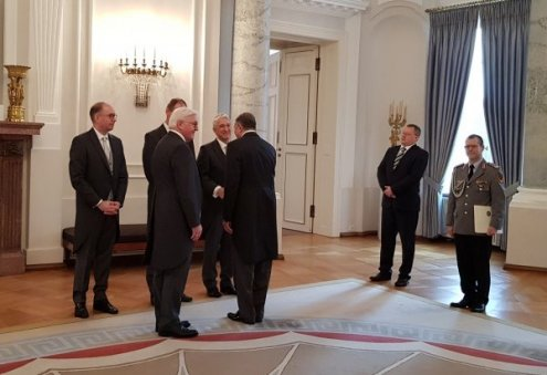 Turkmen Ambassador Presents his Credentials to President of Germany