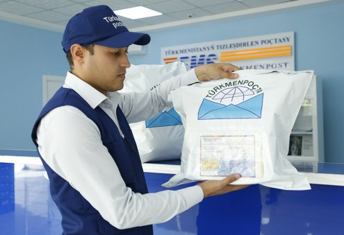 Turkmenpochta Offers Money Transfer Service