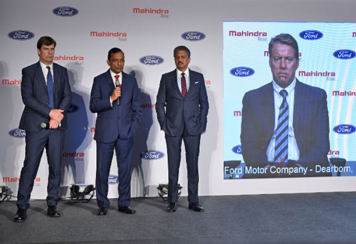 Indian Automaker Mahindra Announced a Joint Venture With Ford