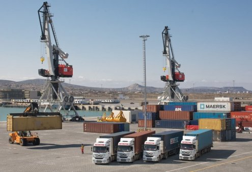 Freight Traffic Between Turkmen, Azerbaijani Ports Up in Q1 2021