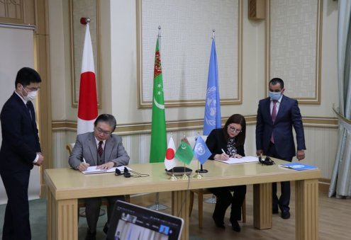 Japan, UNOPS Launch Joint Healthcare Project in Turkmenistan
