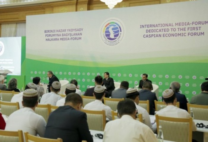 Media Forum in Ashgabat Promotes First Caspian Economic Forum