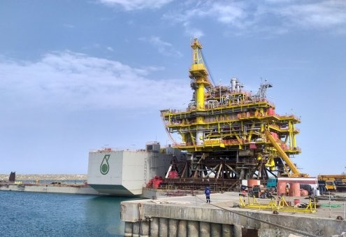 Petronas Launches Oil Production Platform in Caspian Sea's Turkmen Sector