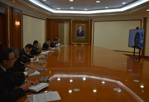 Turkmenistan Discusses National Capital Market's Development With International Financial Institutions