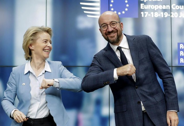 EU Leaders Agree on $2.1 Trillion Budget, COVID-19 Recovery Fund