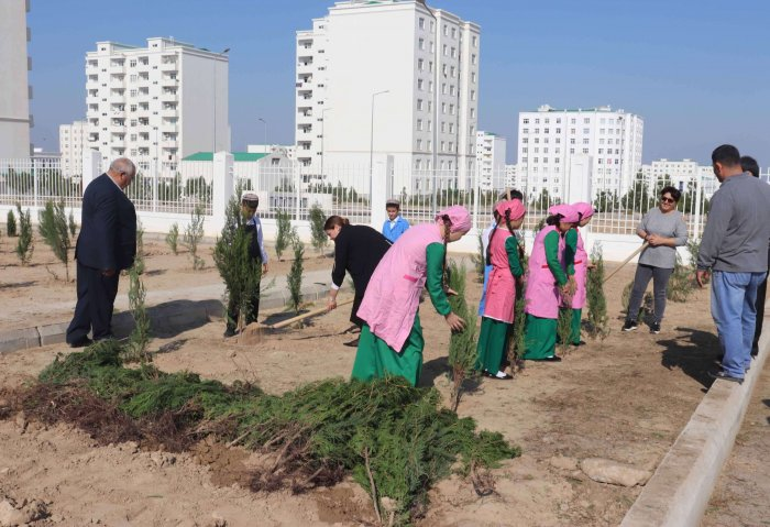 UNDP Actively Supports Eco-Policy of Turkmenistan