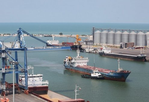 Turkmenistan, Iran Mull Increase of Cargo Flows in Caspian Sea