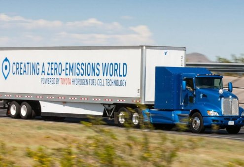 Toyota to Produce Hydrogen Fuel-Cell Electric Truck