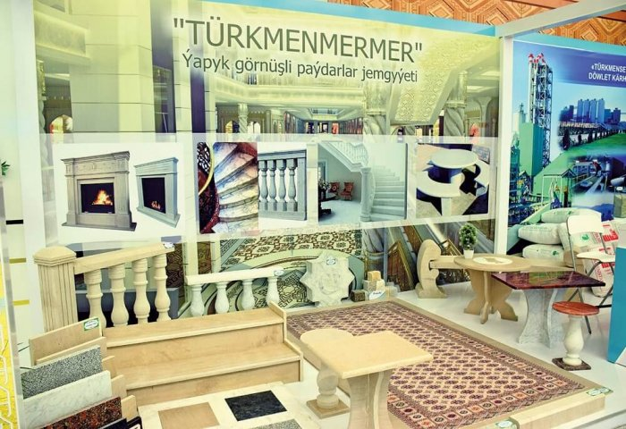 Turkmen Marble Manufacturer Boosts Production