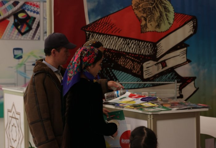 Representatives of Private Sector Attend Ashgabat International Book Exhibition