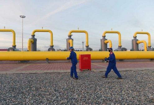 China Ups Natural Gas Production