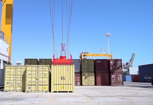 Turkmen Port Control Officials Attend Training in Container Control