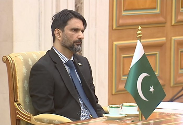 Turkmen President, New Pakistani Envoy Discuss Progress of Regional Projects