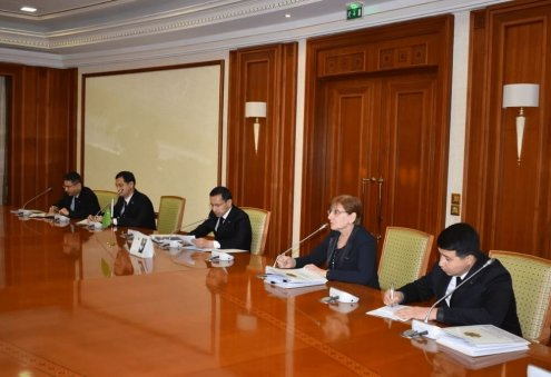 Turkmen Officials Attend Meeting on Improving Activities of SPECA