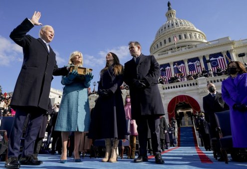 Joe Biden Inaugurated as 46th US President