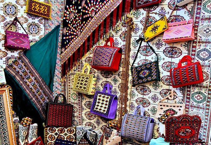 Aý Mähri Exhibits Its Handicrafts in Istanbul Fashion Fair