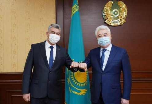 Officials Consider Issues of Sea Transportation Between Turkmenistan, Kazakhstan