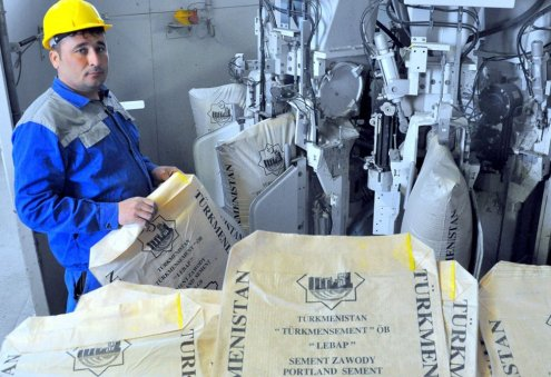 Construction of New Cement Plant Starts in Northeastern Turkmenistan