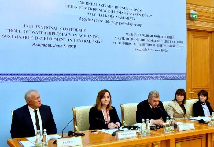 Role of Water Diplomacy in Central Asia Discussed in Ashgabat