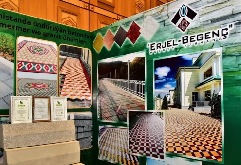 Turkmenistan's Erjel-Begenç Expands Its Production of Construction Materials
