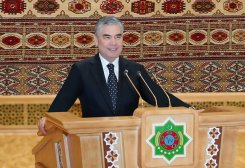 Turkmen President Elected as Chairman of Bicameral Parliament's Upper Chamber